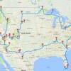 游美最佳路线!这样走就能玩遍美国47个国家公园