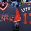 MLB球员周 大谷翔平绰号球衣:SHOWTIME