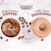 Krispy Kreme限时推出咖啡糖霜甜甜圈!同场加映甜甜圈口味咖啡?