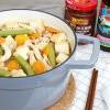 李錦記美味廚房 : 豆腐粉絲煲 + 涼拌什錦菇  初秋的暖心料理