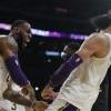 NBA詹姆斯關鍵灌籃 湖人擊退老鷹