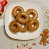 应节甜甜圈登场!Krispy Kreme姜饼口味甜甜圈限定6天