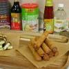 李錦記美味廚房 : Party Platter 日式香蔥牛肉串 + 菲律賓肉碎春捲