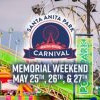 Santa Anita Carnival 嘉年華會 (5/25-27)