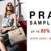 限定三天!Prada Sample Sale折扣高達85% OFF (8/1-3)