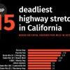 每一英哩便有1.48宗致命意外!加州最致命高速公路排行榜