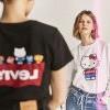 萌势力发威!丹宁品牌LEVI'S携手Hello Kitty推45周年联名系列