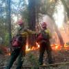 加州野火燒 富人聘私家消防隊自保