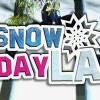 不用上山也能玩雪!Snow Day LA 戶外雪地樂園 ❆ (11/8-12/29)