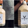 珍奶控喝到爽! 5公升巨大珍奶霸氣登場 足足比一般珍奶大八倍