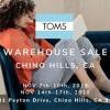 冲呀!TOMS Warehouse Sale开仓活动又来啦~ (11/7-17)