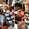 影/让男孩欢呼不已的圣诞节礼物是它 超级日常!