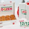 Day of the Dozens!这天Krispy Kreme第二打甜甜圈只要$1 (12/12)
