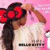 萌翻你的指尖!OPI「Hello Kitty耀眼假期联名指甲油」节庆亮片色、粉彩色、珠光色全都有