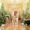 白宫圣诞竟然变这样!美国第一夫人梅兰妮亚带你逛 川普办公室塞满水仙花?