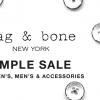Rag & Bone Sample Sale 男裝、女裝大減價! (12/17-22)