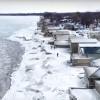 真實「冰雪奇緣」世界!強風吹襲48小時 美國伊利湖畔被冰封變美景