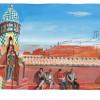 LV旅游书新增巴塞隆纳、摩洛哥和圣彼德堡 大艺术家带你来场纸上旅行