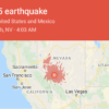 今晨 Nevada 州 發生6.5級地震,遠至加州和Utah均有震感