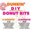 Dunkin' 推出 DIY 甜甜圈,民眾瘋搶排45分鐘也要買到!