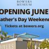 好消息!Bowers Museum 寶爾博物館6月19日重新開館