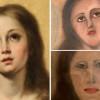 花 1300 元請外行人修復古畫 聖母瑪莉亞面容大崩壞