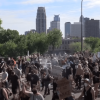 暴動擴大 警民衝突如戰區 全美25城宵禁