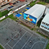 致敬 Kobe Bryant  曼巴精神永存 ! 欧洲最大科比纪念壁画建成