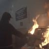 San Bernardino 暴徒昨夜火烧 DMV,洗劫商店