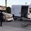上週六El Monte 一拖車司機連續撞壞多輛汽車