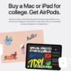 超佛!Apple官網推Back to School優惠 買Mac、iPad送AirPods