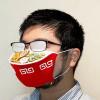 眼鏡起霧剛剛好!日本再推奇葩設計 「拉麵口罩」引起討論