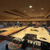 NBA / 复赛场地曝光!   22队主场地板组装中