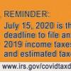 还没报税?今年最终报税截止日为7月15日  如何报税看过来