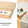 LEGO 联手 IKEA 放大想像力 自己的收纳柜自己组