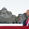 川普「夢想」他的臉出現在總統山上 網友幫他圓夢