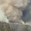 Ranch 2 Fire 已燒毀2500英畝山林  Azusa 附近居民強制撤離令目前已被取消