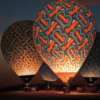 BURBERRY 热气球形象图 美出新高度 简直风景明信片