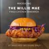 洛杉矶炸鸡战区又添新品! Willie Mae's X HiHo Cheeseburger 强强联手限时供应 The Willie Mae 炸鸡汉堡!(9/26-11/30)