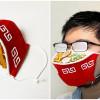 影/超惡搞日本「拉麵口罩」!眼鏡起霧效果更讚