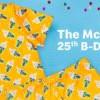 麥當勞 McFlurry 25歲啦~ 特別推出限量版新衣!邀粉絲共享新裝慶生會(9/25)