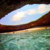 影/隱藏在彈坑內的海灘!無人機空拍墨西哥荒島秘境