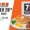 Norms 早餐只要 $0.71 !限 10/28 7-9 am 想吃的朋友快快行动吧