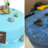 她花千元客製蛋糕收成品傻眼 網驚:這是3歲小孩黏土作品吧!