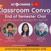 誠邀莘莘學子和演員Hudson Yang(楊升德)一起參加由麥當勞 和 Act To Change共同推出,以學生為重點的Classroom Convos線上研討會