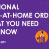 南加州區域性 Stay-at-Home 居家隔離令(12/6-12/27)