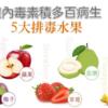 體內毒素積多百病生! 最強TOP 5「排毒水果」大公開