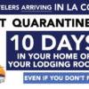 洛杉矶 COVID19 疫情最新进展:LAX 机场迎来旅客高峰;外出旅行强制隔离10天;洛杉矶上个月疫情翻番;超市数百员工感染新冠…