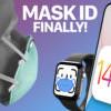 解决配戴口罩使用困扰 Apple 将在新版 iOS 加入以 Apple Watch 解锁 iPhone 功能