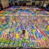 世界最大油畫!「人類的旅程」拍賣所得近6200萬美元全捐